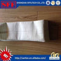 Waterproof and oil proof bag filter / PPS teflon filter bag / Nomex fiberglass dust collector bag