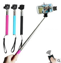 Bluetooth selfie stick for Android and ios Apple cell bluetooth remote smart cell phone