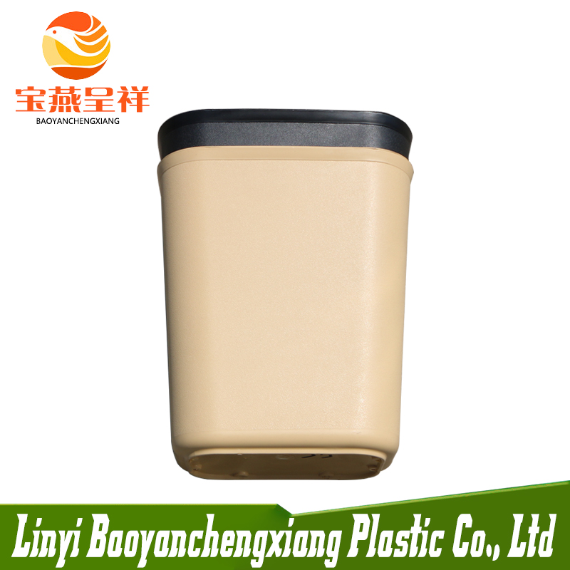 FACTORY MADE HDPE CLEAR PLASTIC 15L DUSTBIN CHATROOM TOILET DUSTBIN