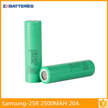 samsung inr18650-25r lithium battery -inr18650 25r rechargeable battery for tools tools