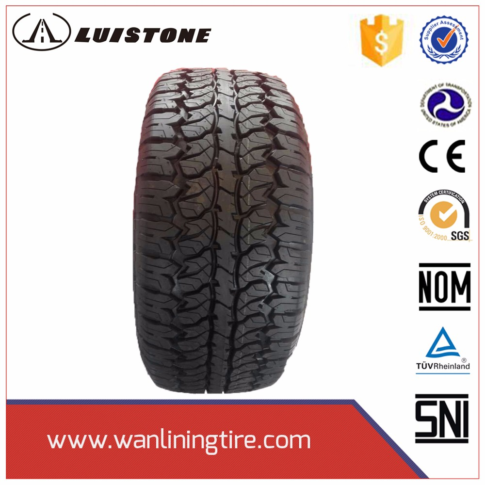 chinese AT pattern semi steel radial car tire 235/80r16 235/85r16