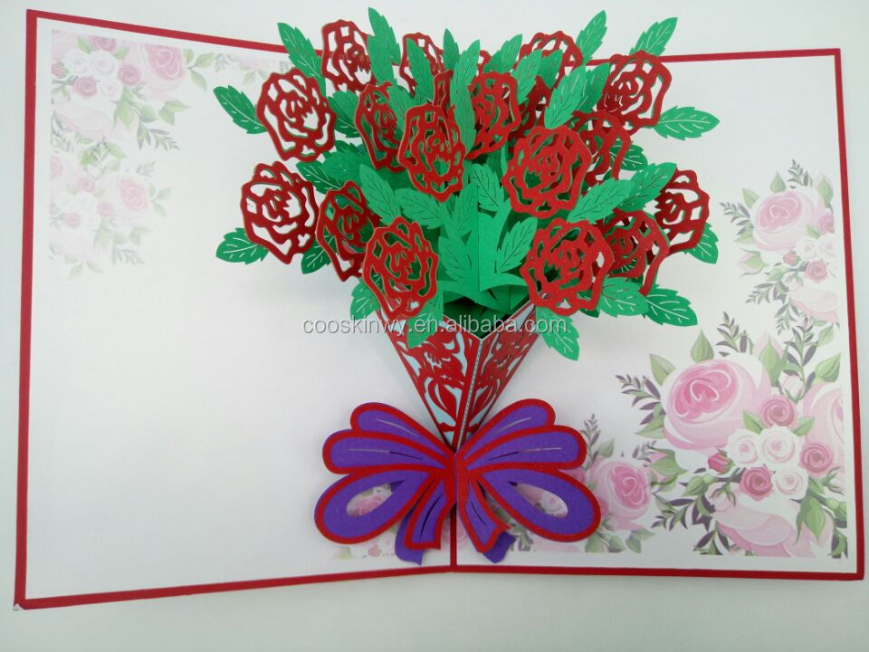 new latest 3d handwork mothers day gifts cards