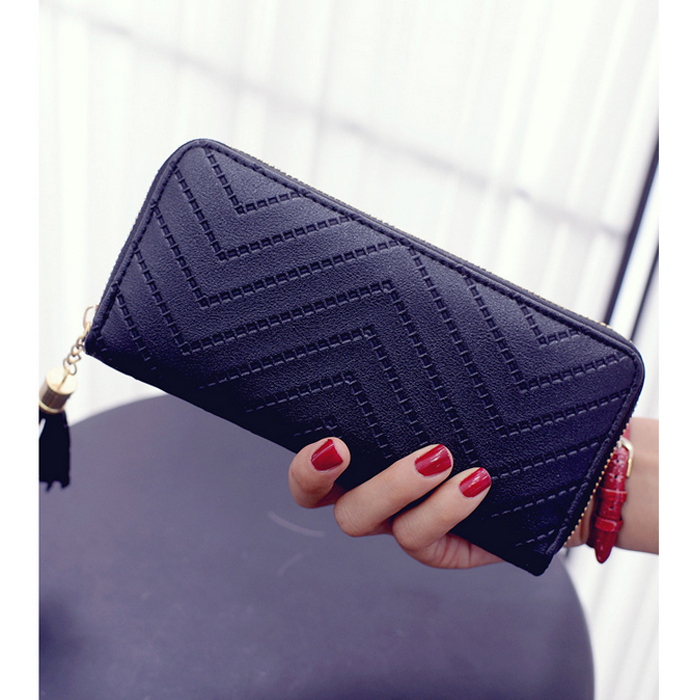 Hot trendy Italy PU handbags gloss ultrathin weaving purse