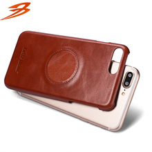 Free sample leather skin cell phone back cover case mobile phone case for apple iphone 7 plus