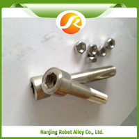 724 plated allen head aluminum bolt and allen head cap screw