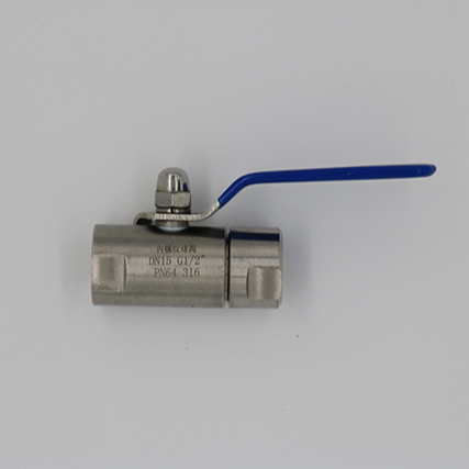 <strong>Q11F</strong>-64 316SS stainless steel DN15 G1/2'' PN64 female instrument mini <strong>ball</strong> <strong>valve</strong>