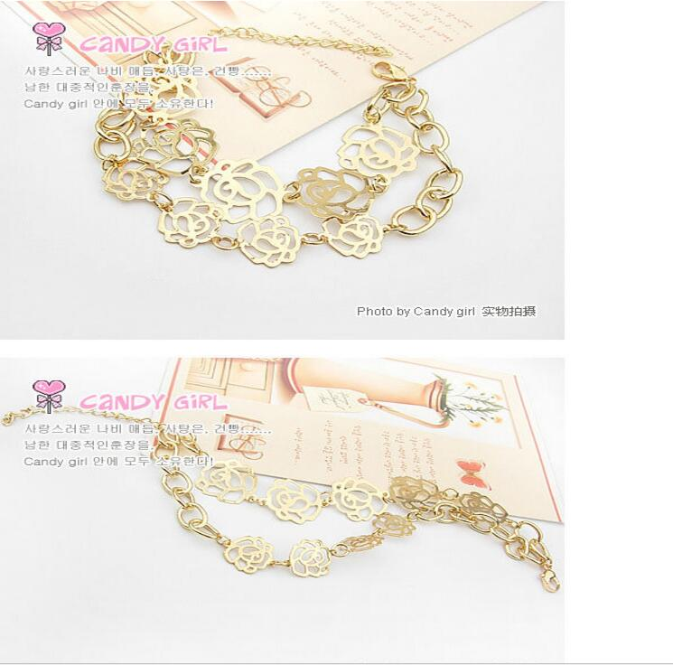 candygirl brand jewelry accessories trendy fashion chain link custom jewelry bracelet