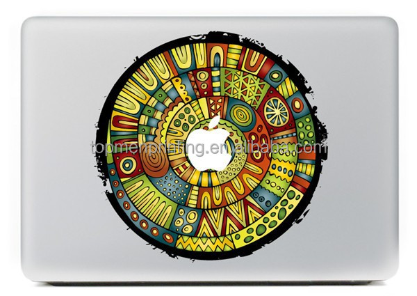 For Macbook decals brighten your life skin ticker for macbook