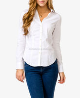 CHEFON Stretchy split collared woman shirts and blouses big size 2014 CB0450