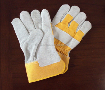 Cotton Safety Work PVC Dotted Cut Resistant Knitted Gloves