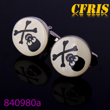 Wholesale vivid hazardous anime cufflinks