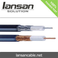 UL listed RG58 CATV quad shield coaxial cable