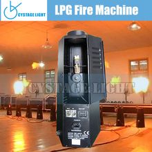 DMX Control LPG Fire Flame Machine Stage Flame Effects