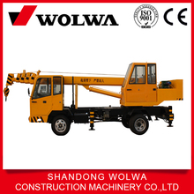 5 ton to 10 ton factory mobile truck crane with hydraulic system for sale