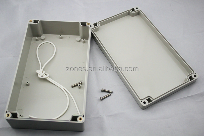 custom ip65 dustproof waterproof plastic electronic enclosure housing