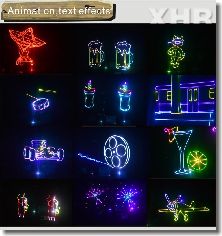 xhr high power 5000mw rgb programmable laser light for. Black Bedroom Furniture Sets. Home Design Ideas