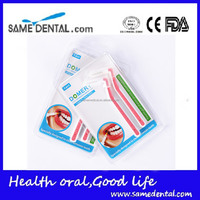 Cheap and good quality interdental brush 2pcs per blister card