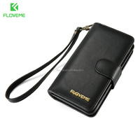 Good New Design PU Leather 4.7 and 5.5 inch Cell Mobile Hand Phone Case Wallet For IPhone 7