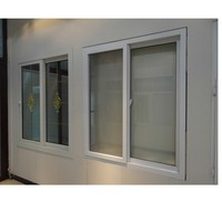 hot sell graceful prefabricated windows and doors upvc windows