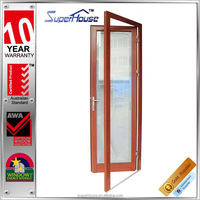 strong and durable timber grain lowes french doors exterior for hot selling