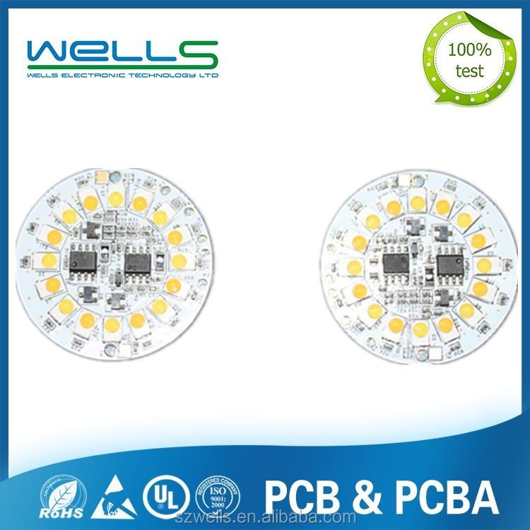 Led Round Smd Pcb Board/led Printed Circuit Board/led Pcb