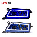 Hot Selling Blue Halo led headlight for 4x4 ATV polaris rzr 1000