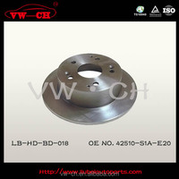 42510-S1A-E20least wear and longest life of brake disc for honda