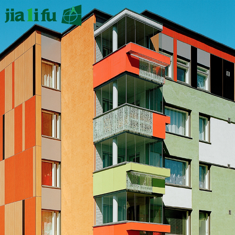 Jialifu interior hpl wall panels / cheap interior wall paneling / decorative wall covering panels
