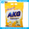 high foam! OEM/AKG brand washing powder making formula from detergent powder konje factory