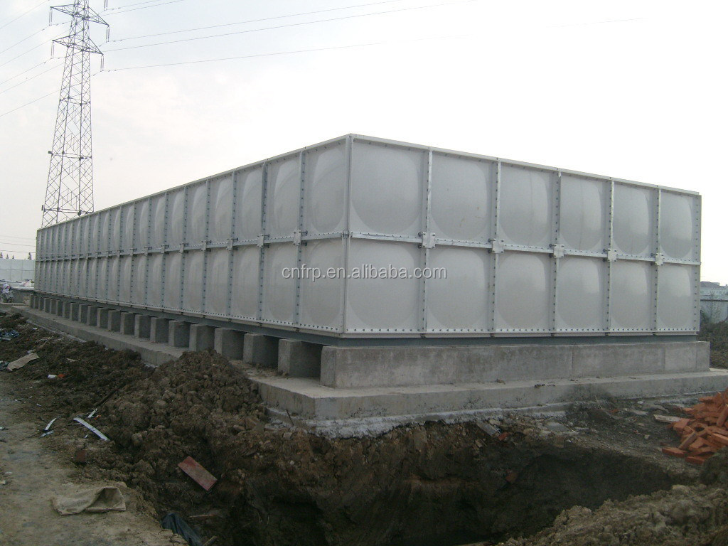 FRP water tank/ high-quality and beautiful water tank/ SMC combined type cistern