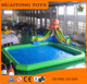 Giant PVC inflatable swimming pool singapore with high quality