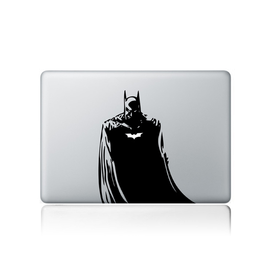 2400 dpi supperhero Batman laptop sticker for macbook 13 decal vinyl mirror wall sticker computer stickers adesivo  decalque