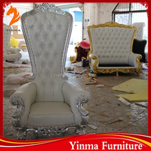Hot Sale factory price kings chair throne wooden