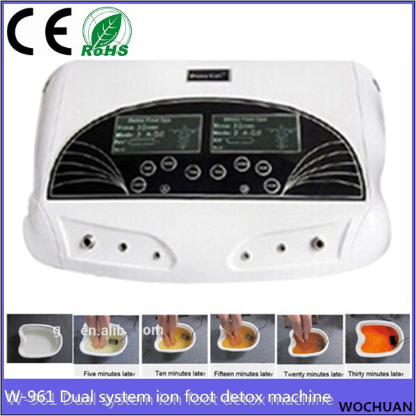 health care device foot spa dual system cell spa chi ionic ion detox machine
