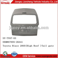 Japanese Auto Spare Part Toyota Grand Hiace Back Door Parts