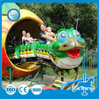 Amusement park roller coaster! Outdoor mini train toy
