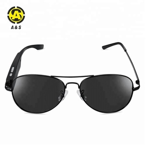 High quality PC TAC fashion polarized bluetooth sunglasses