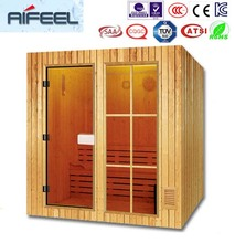 best finland wood material S-2000 ozone sauna steam shower