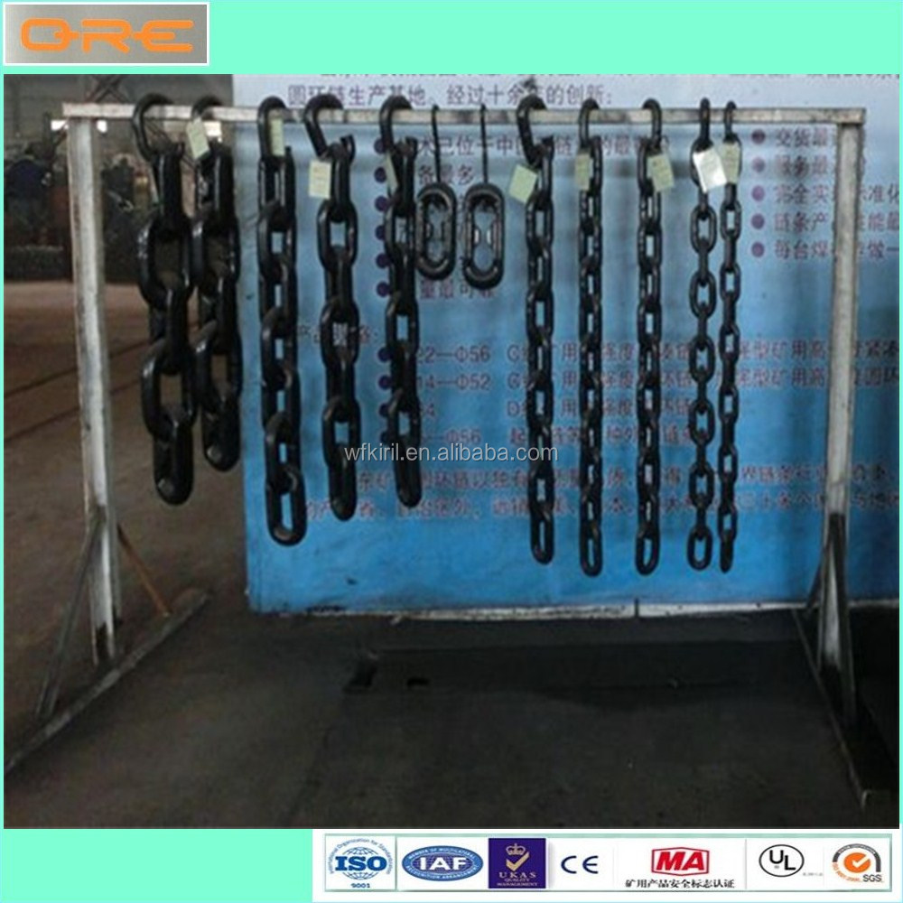 Alloy material and welded structure G80 mining chain