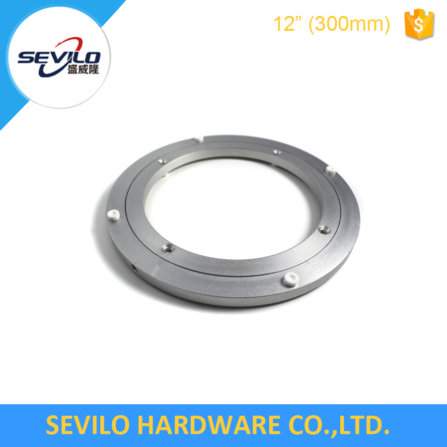 Turnable swivel plate low noise Aluminium lazy susan bearing