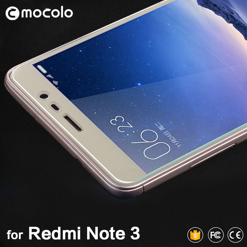 For Xiaomi Redmi Note 3 Hongmi Note 3 Tempered Glass Screen Protector 0.33mm 2.5D with Retail package