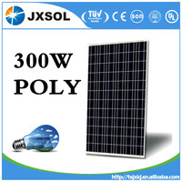 2016 Hot sale High Efficiency Low Price 300W poly solar panel
