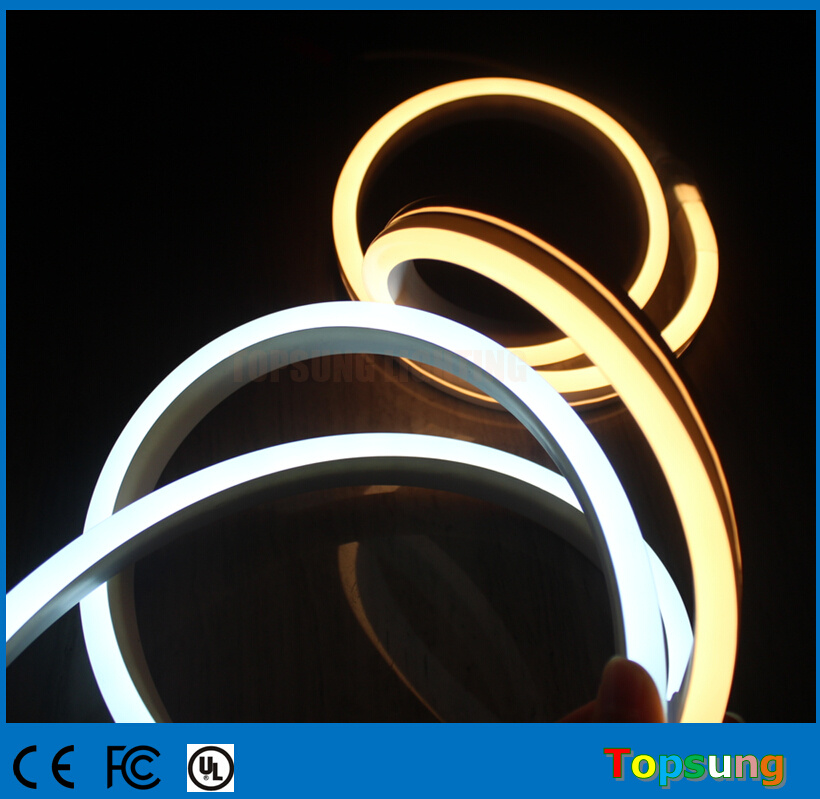 New 11*19mm Flat neon rope 230v white SMD flexible led neon manufacturer
