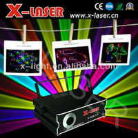 NEW 1W RGB full color Animation laser light machine/laser stars projector