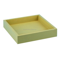 Cheap wholesale custom painting wood tray