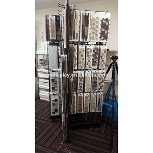Mosaic display shelf/tile display rack/ceramic tile display stand