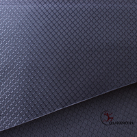 400D Transparent Coated Diamond Type Dobby Breathable 3000mm/3000kpa Polyester Oxford Fabric