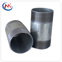hot dipped galvanized /sand balsting carbon steel barrel pipe nipple