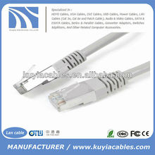 10ft/3m 24 AWG cat5 cate SFTP Network cable