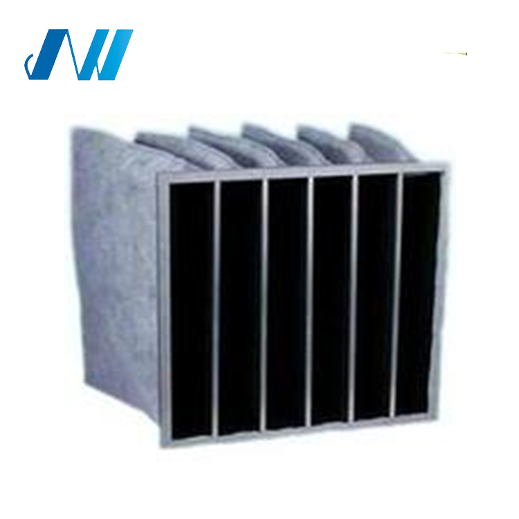 ISO9001,CE,DIN Activated Carbon Pocket Filter Air Conditioner Air Filter